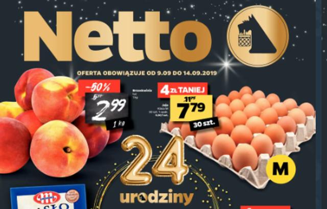 Atrakcyjne promocje na 24 urodziny Netto
