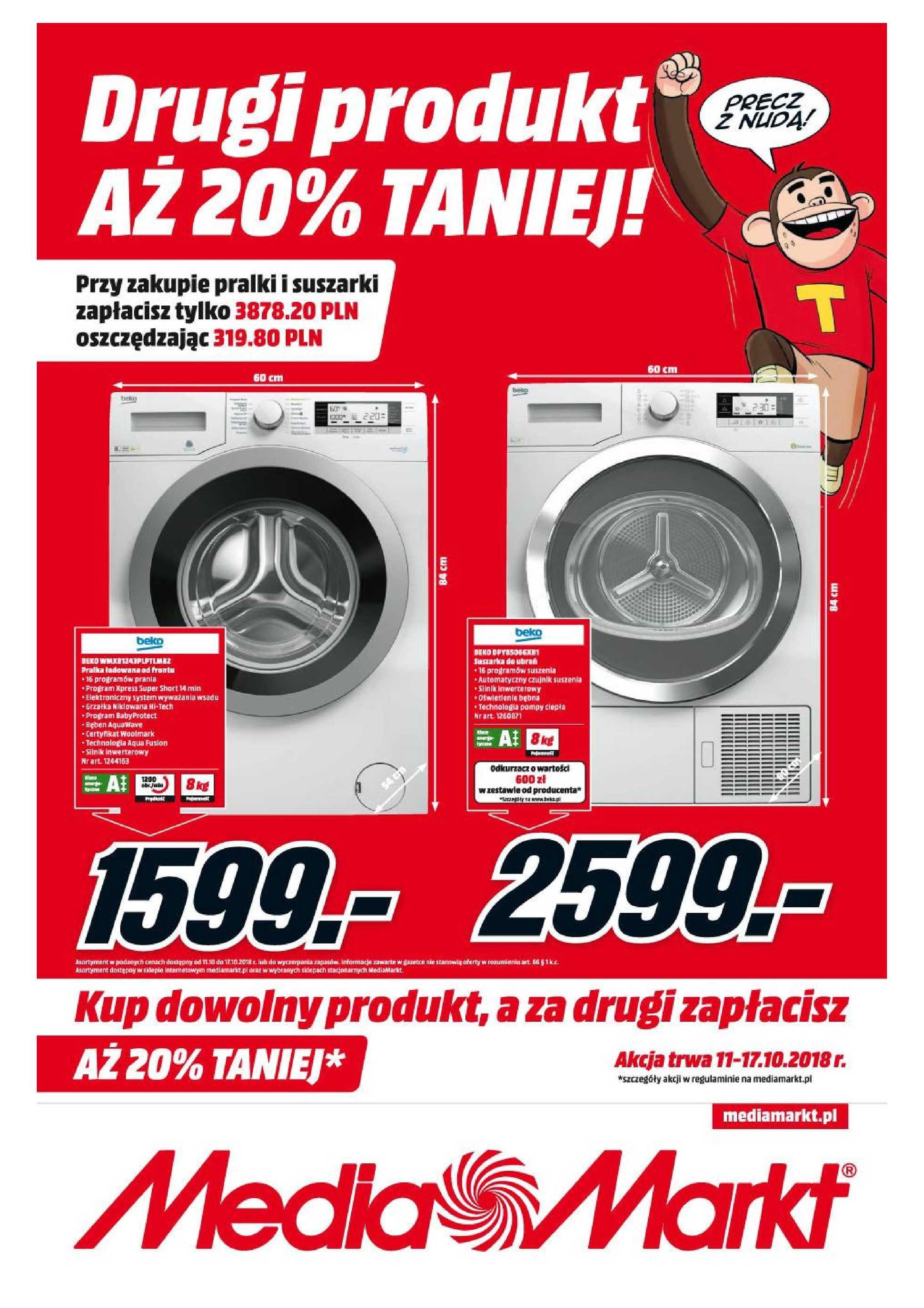 Media Markt Gazetka Promocyjna 11102018 Gazetkowopl
