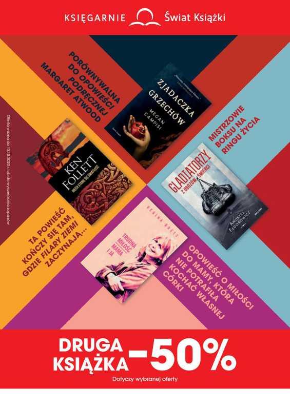 Świat Książki - gazetka promocyjna ważna od 16.09.2020 do 13.10.2020 - strona 1.