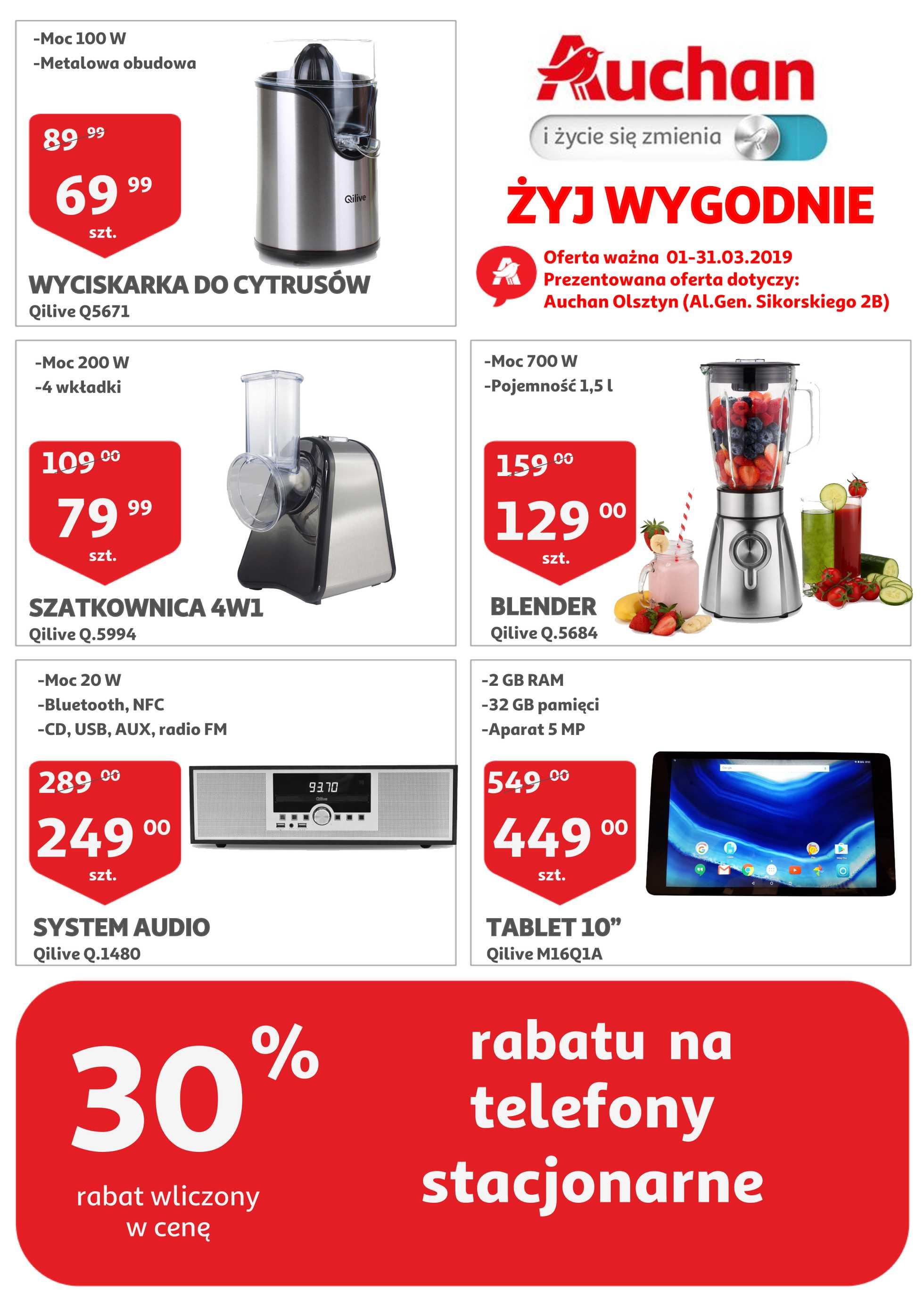 Auchan Gazetka Promocyjna 01 03 2019 Gazetkowo Pl