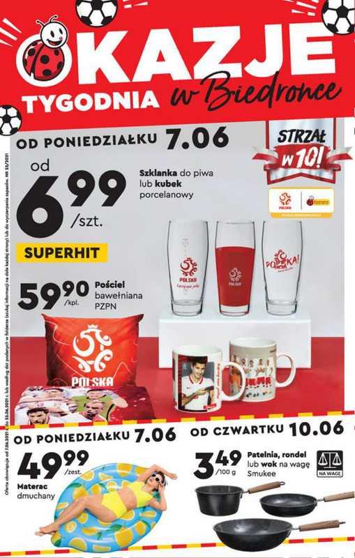 Biedronka - gazetka promocyjna ważna od 07.06.2021 do 21.06.2021 - strona 1.