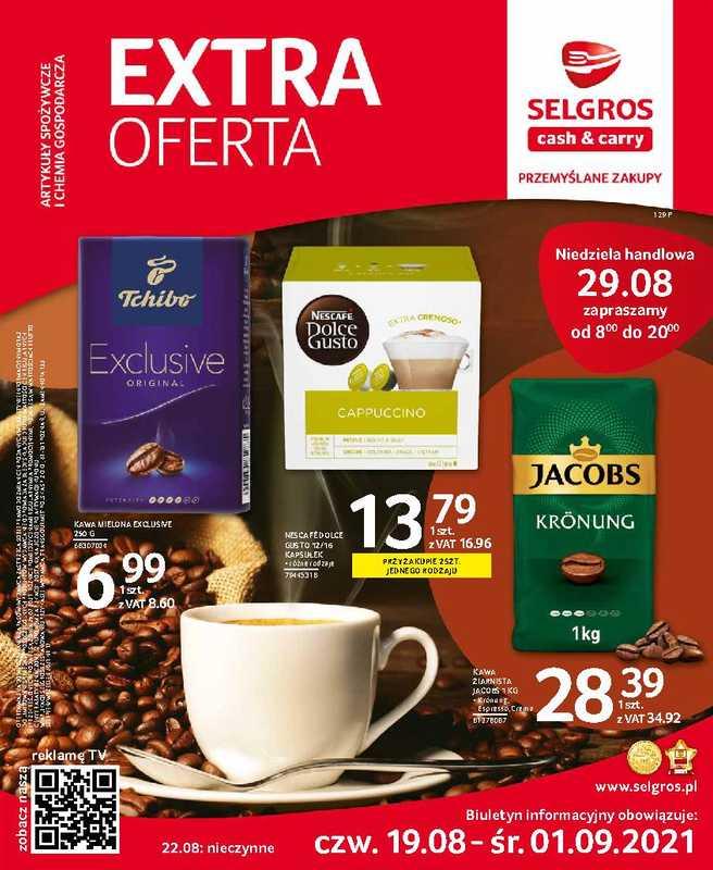 Selgros Cash&Carry - gazetka promocyjna ważna od 19.08.2021 do 01.09.2021 - strona 1.