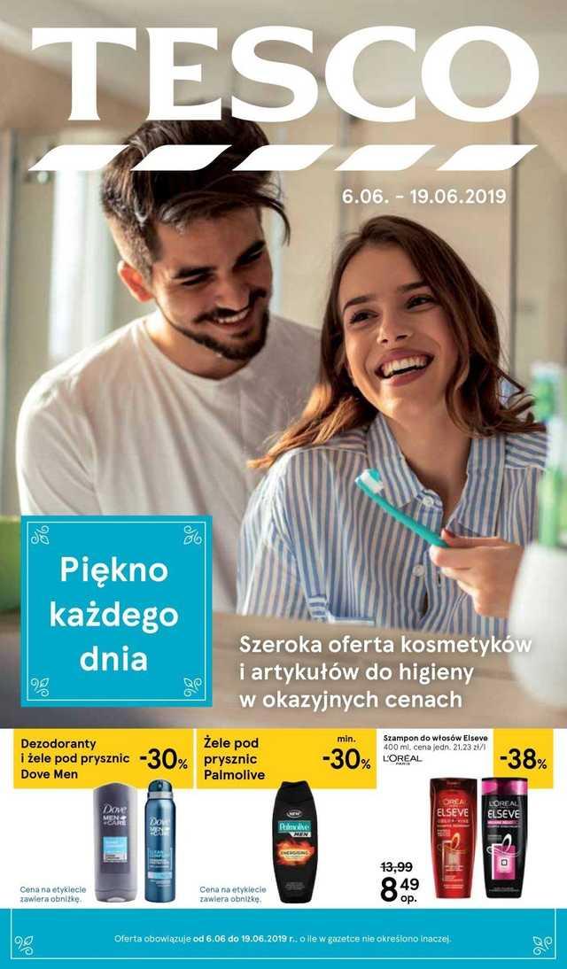 Tesco - gazetka obowiązująca od 2019-06-06 - strona 1