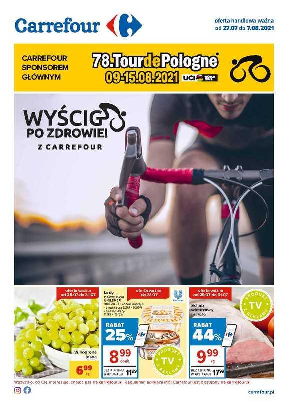 Carrefour - gazetka promocyjna ważna od 27.07.2021 do 07.08.2021 - strona 1.