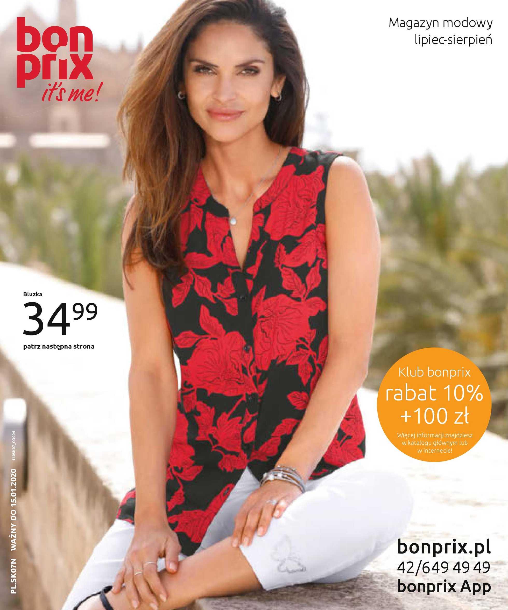Bonprix - gazetka obowiązująca od 01-08-2019 - strona 1