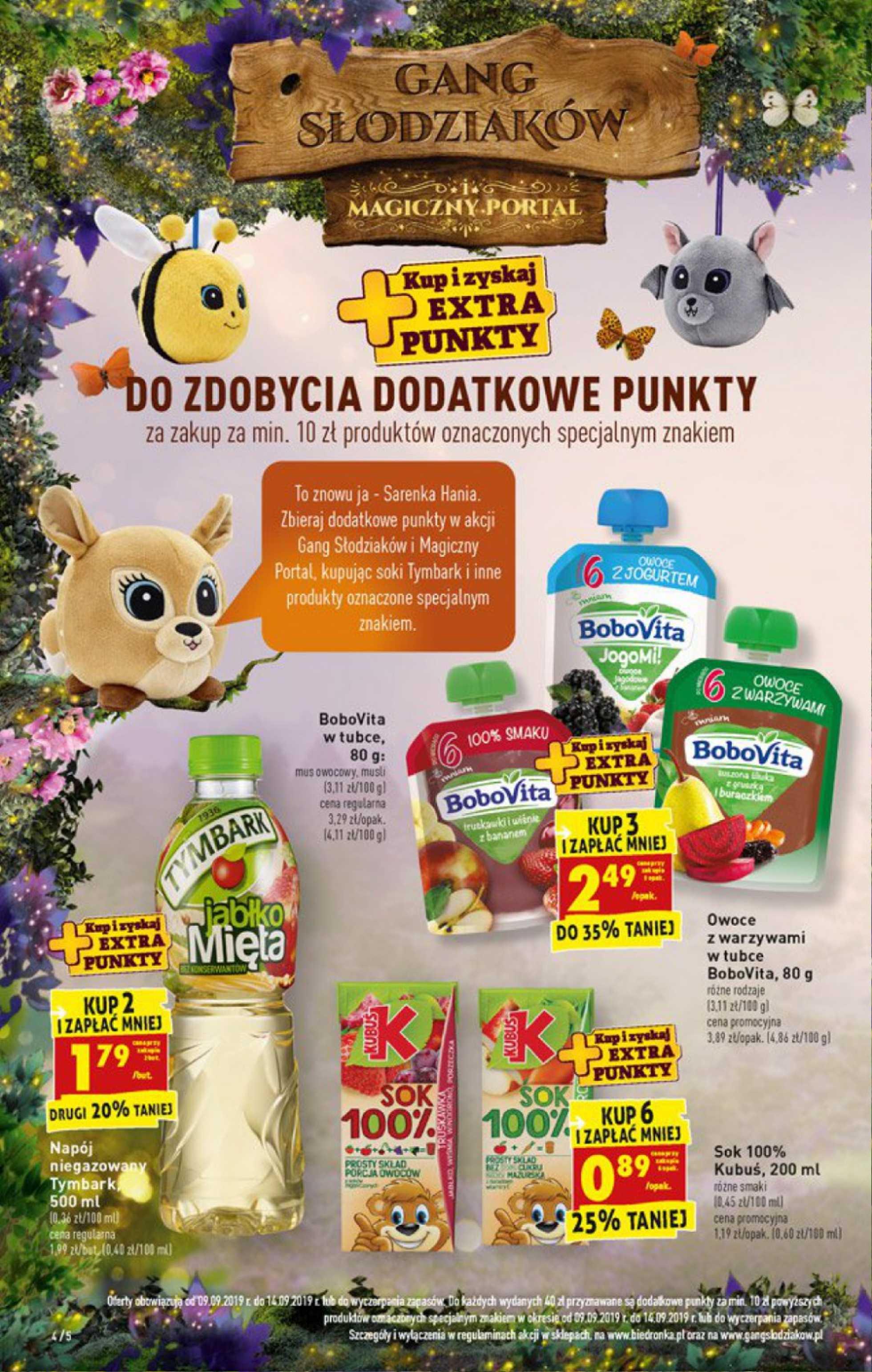 Biedronka - gazetka promocyjna ważna od 09.09.2019 do 14.09.2019 - strona 4.