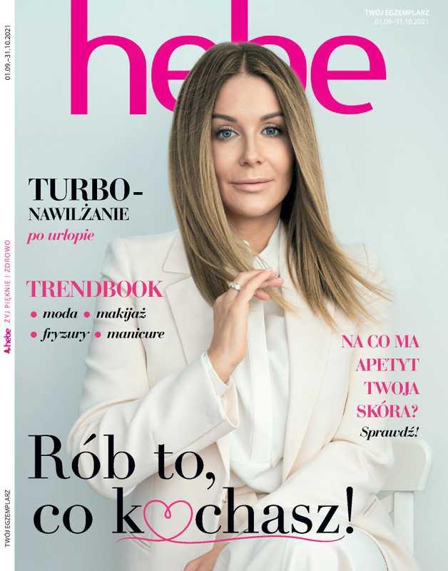 Hebe - gazetka promocyjna ważna od 01.09.2021 do 31.10.2021 - strona 1.