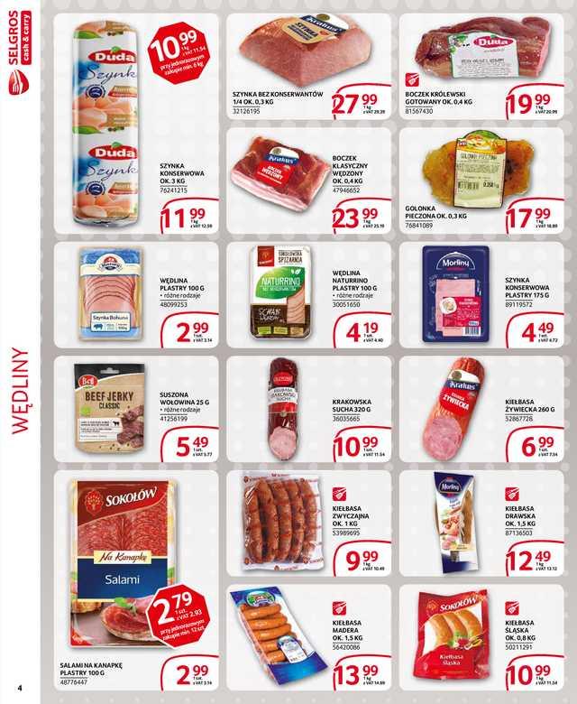 Selgros Cash&Carry - gazetka obowiązująca od 2019-05-09 - strona 4