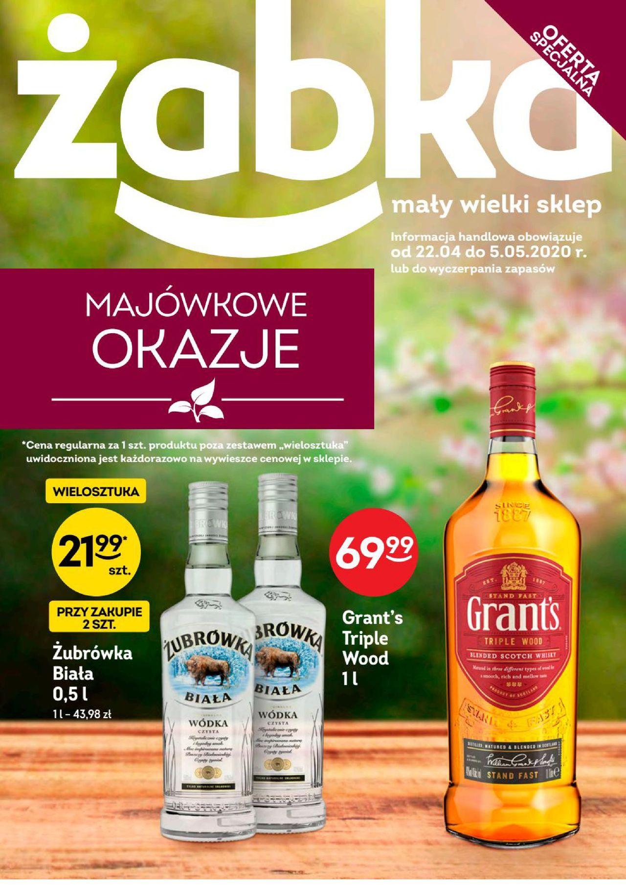 Gazetka Promocyjna Zabka Z 22 04 2020 Gazetkowo Pl