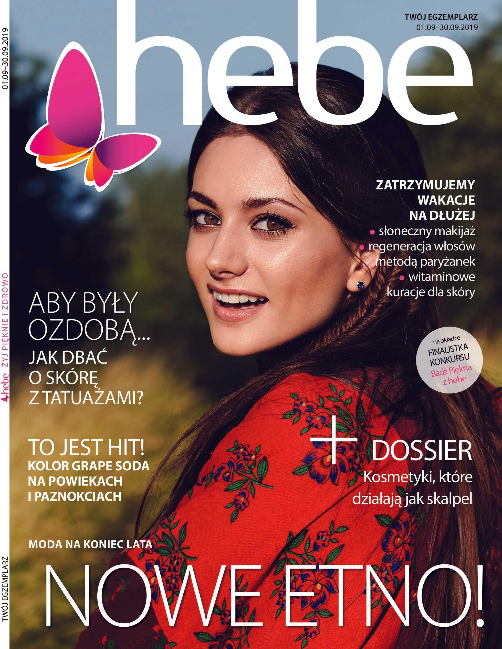 Hebe - gazetka obowiązująca od 01-09-2019 - strona 1