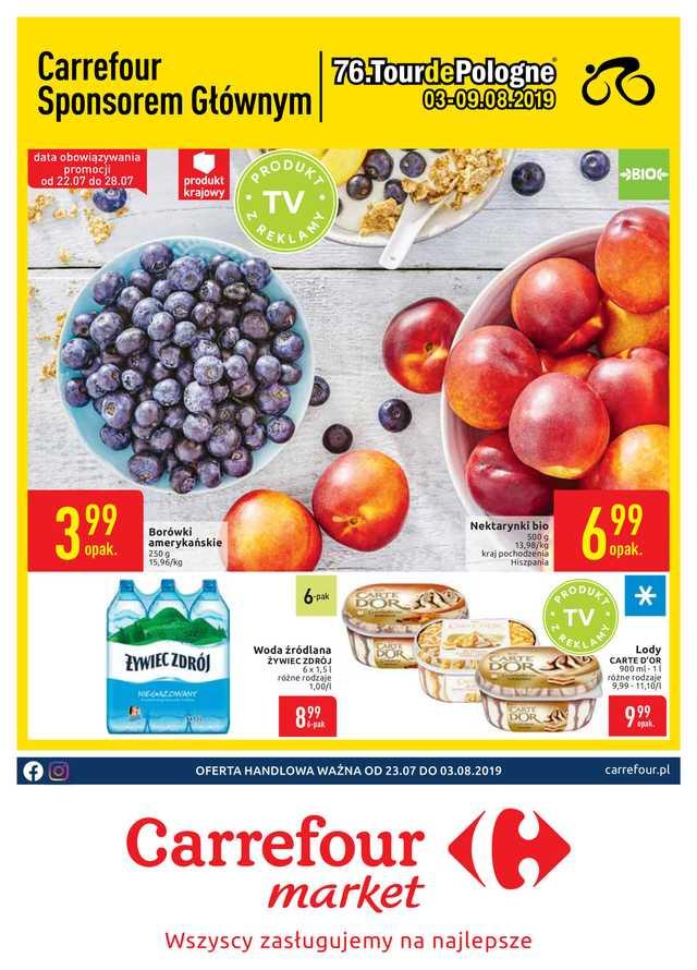 Carrefour Market - gazetka obowiązująca od 2019-07-23 - strona 1