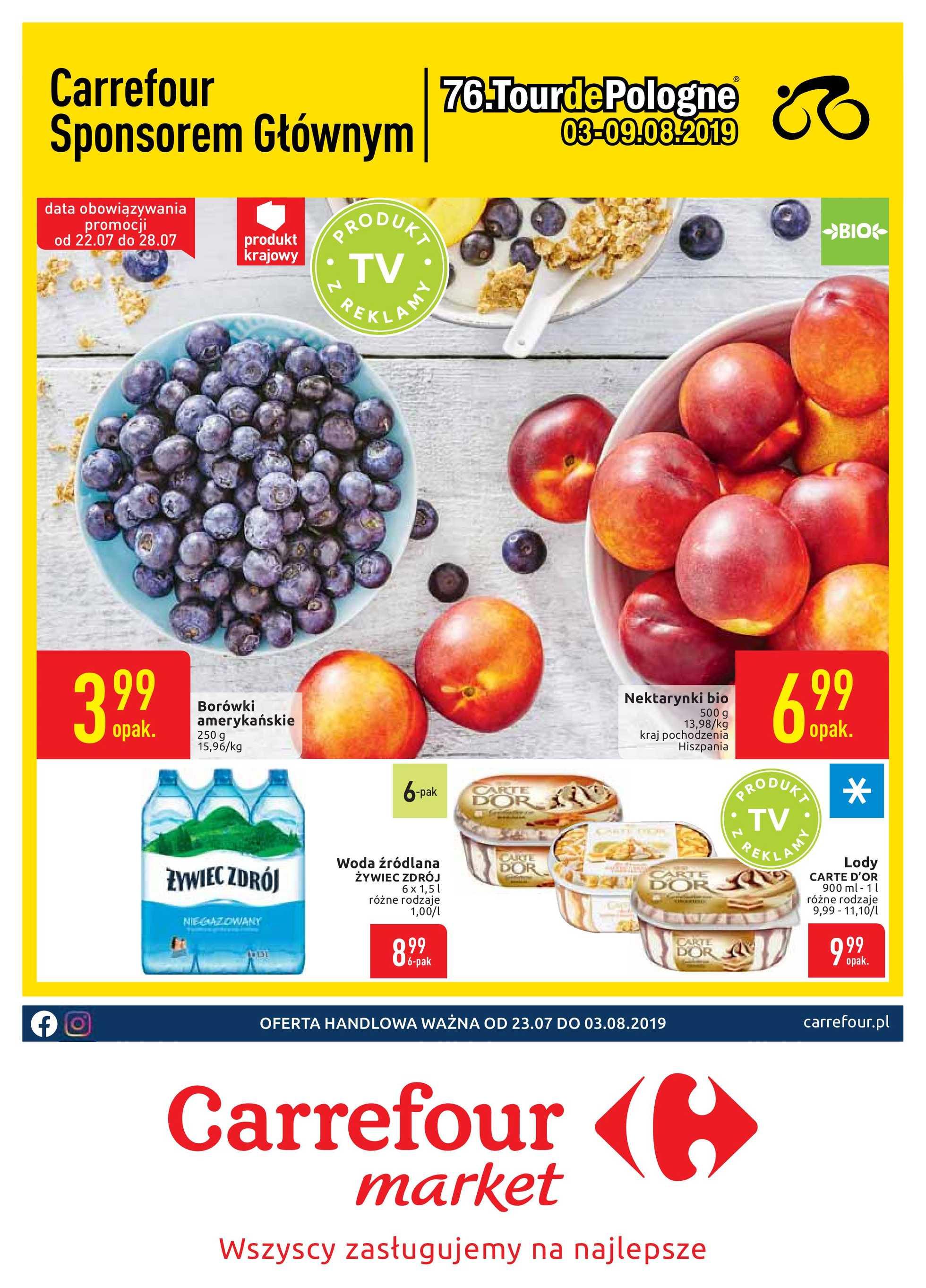 Carrefour Market Gazetka Promocyjna 23 07 2019 Gazetkowopl