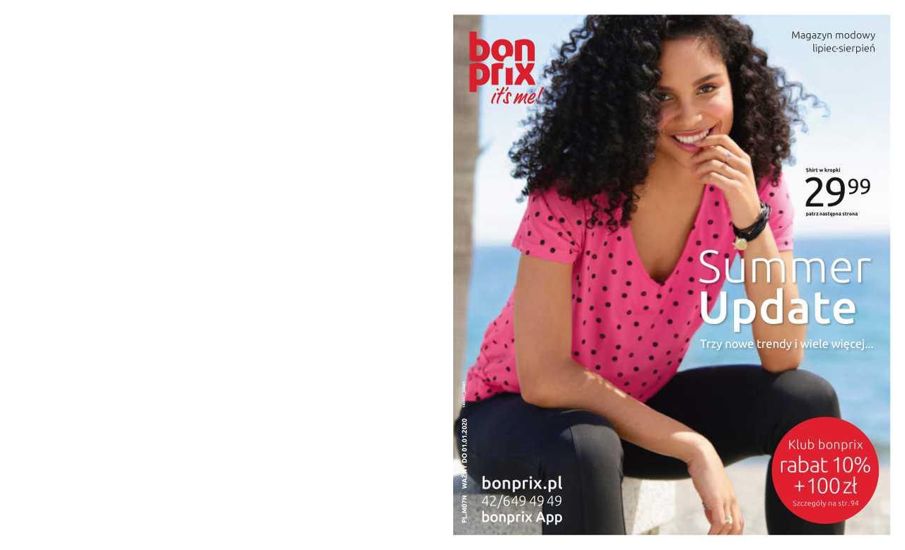 Bonprix - gazetka obowiązująca od 2019-07-17 - strona 1