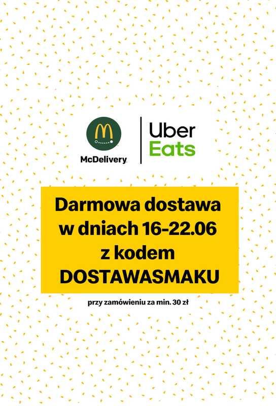 McDonald's - gazetka promocyjna ważna od 16.06.2020 do 22.06.2020 - strona 1.