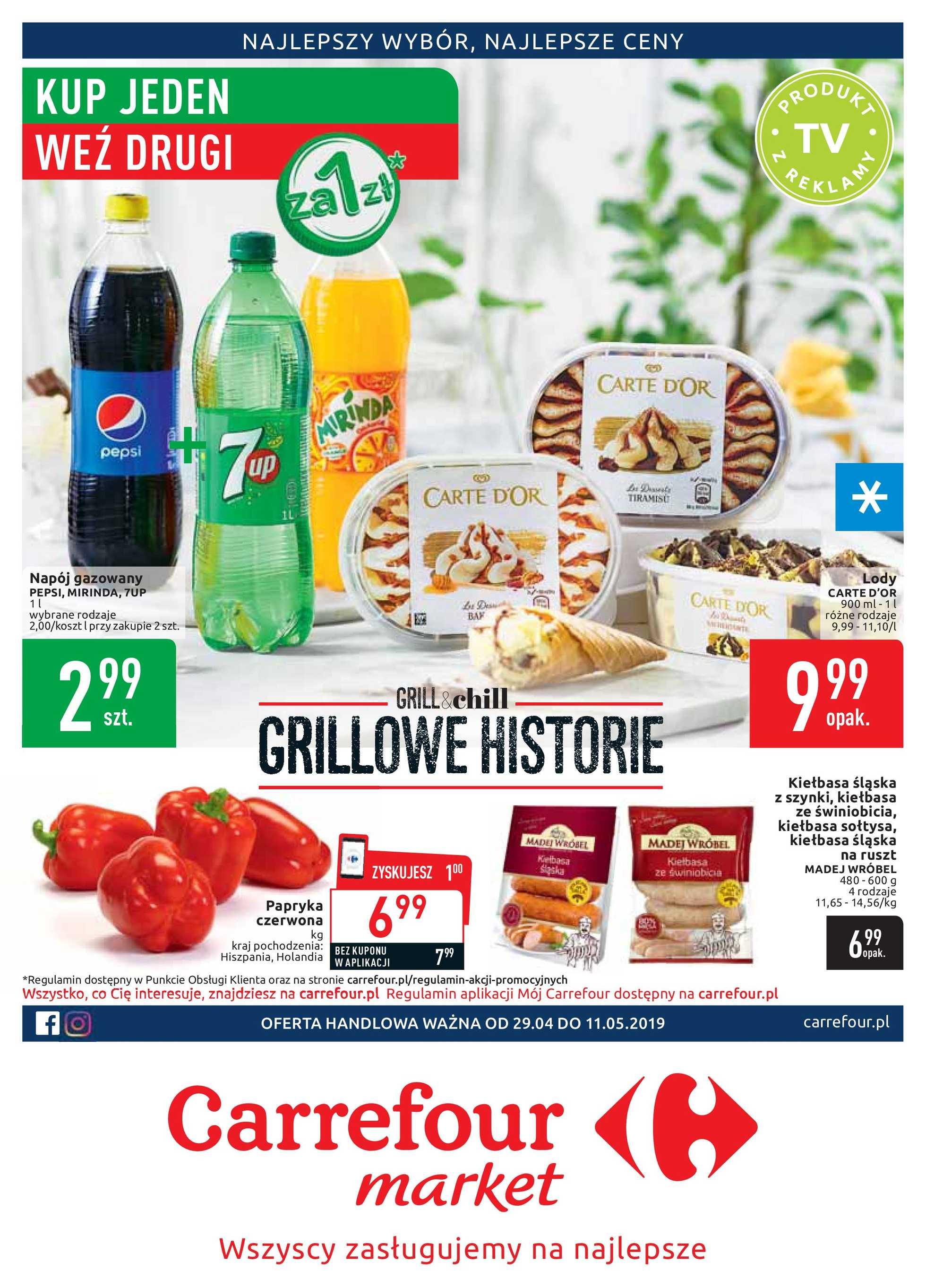 Carrefour Market Gazetka Promocyjna 29042019 Gazetkowopl