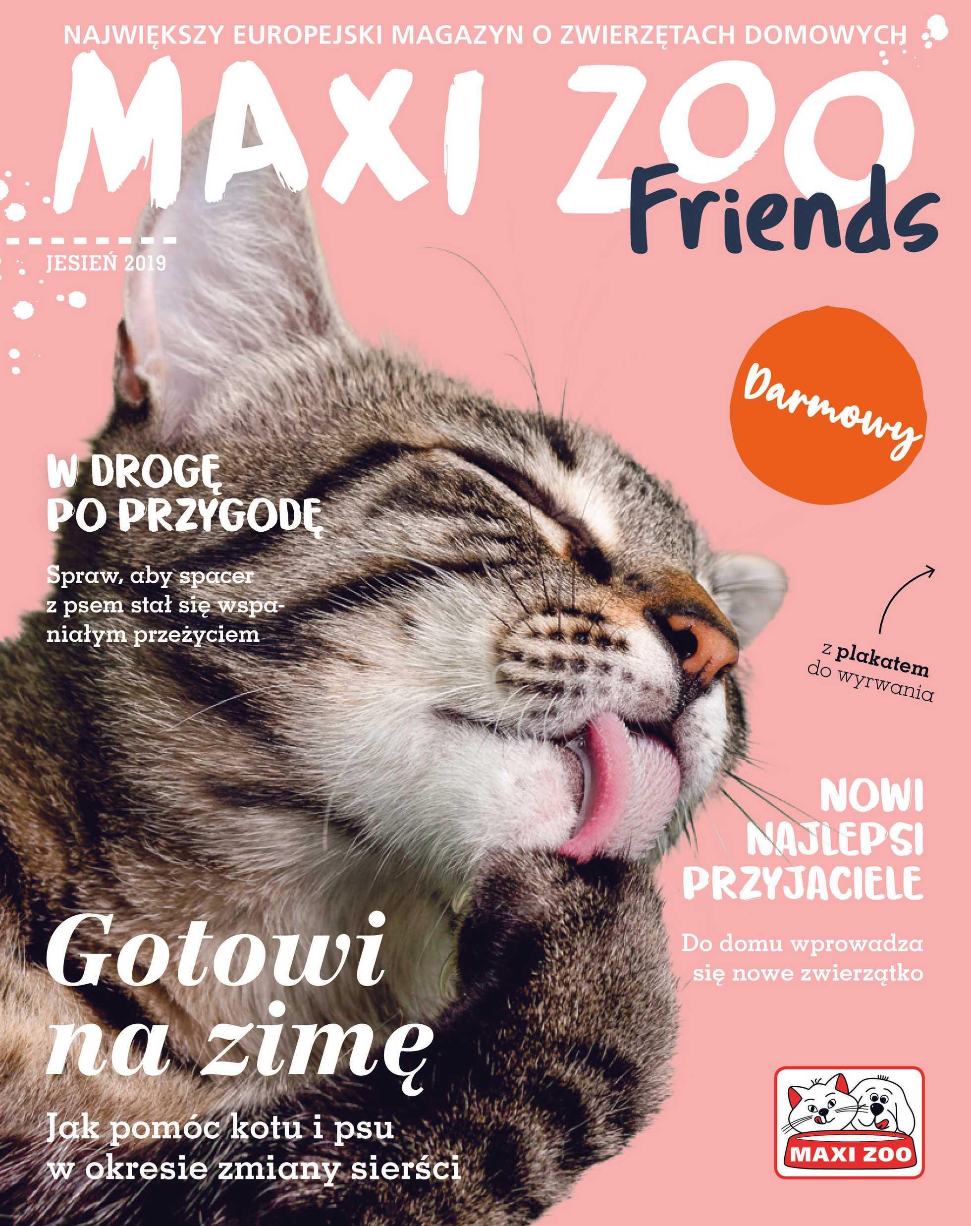Maxi ZOO - gazetka obowiązująca od 23-09-2019 - strona 1