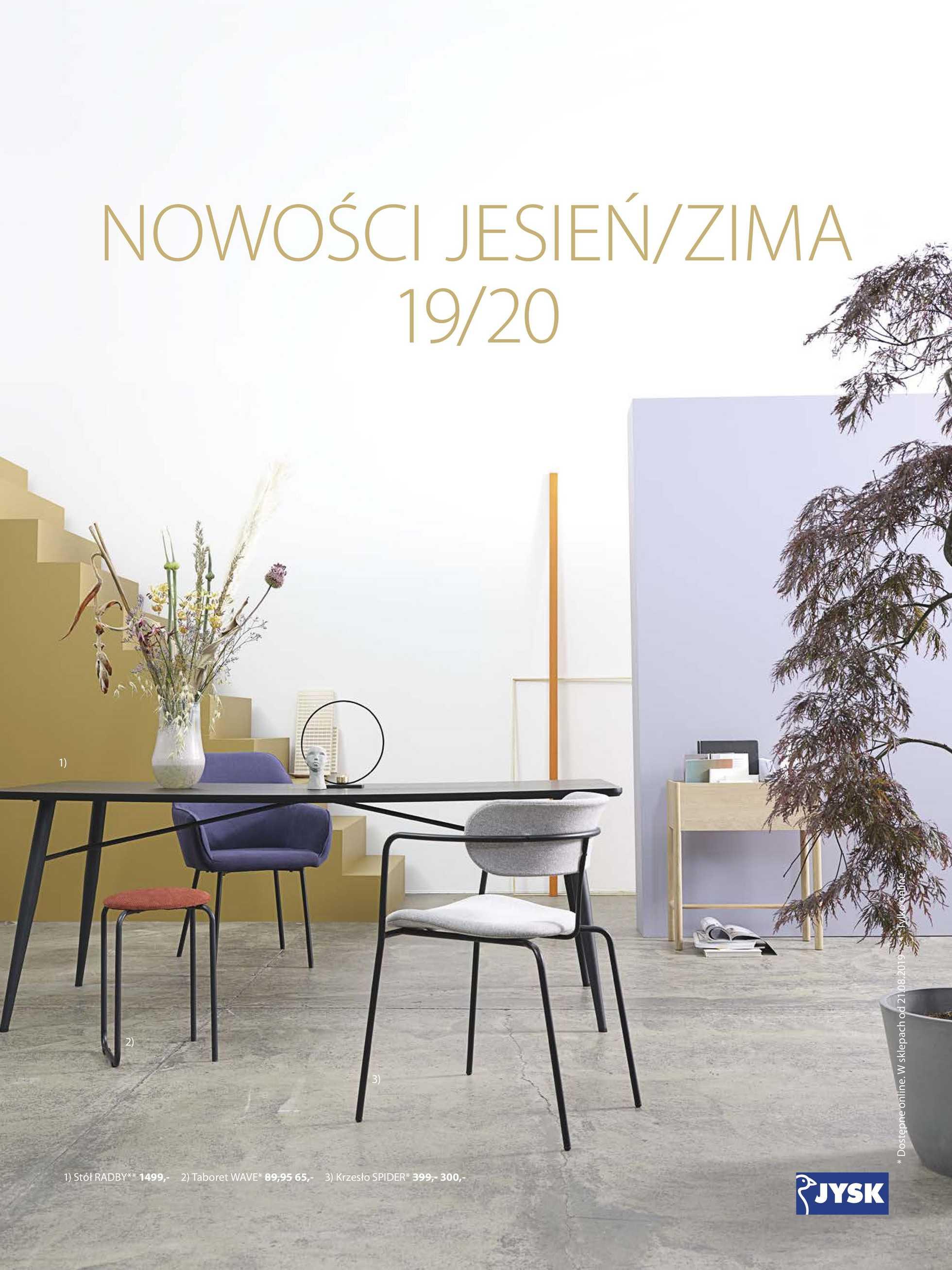 Jysk Gazetka Promocyjna 21 08 2019 Gazetkowopl