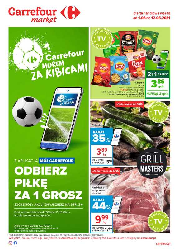 Carrefour Market - gazetka promocyjna ważna od 01.06.2021 do 12.06.2021 - strona 1.