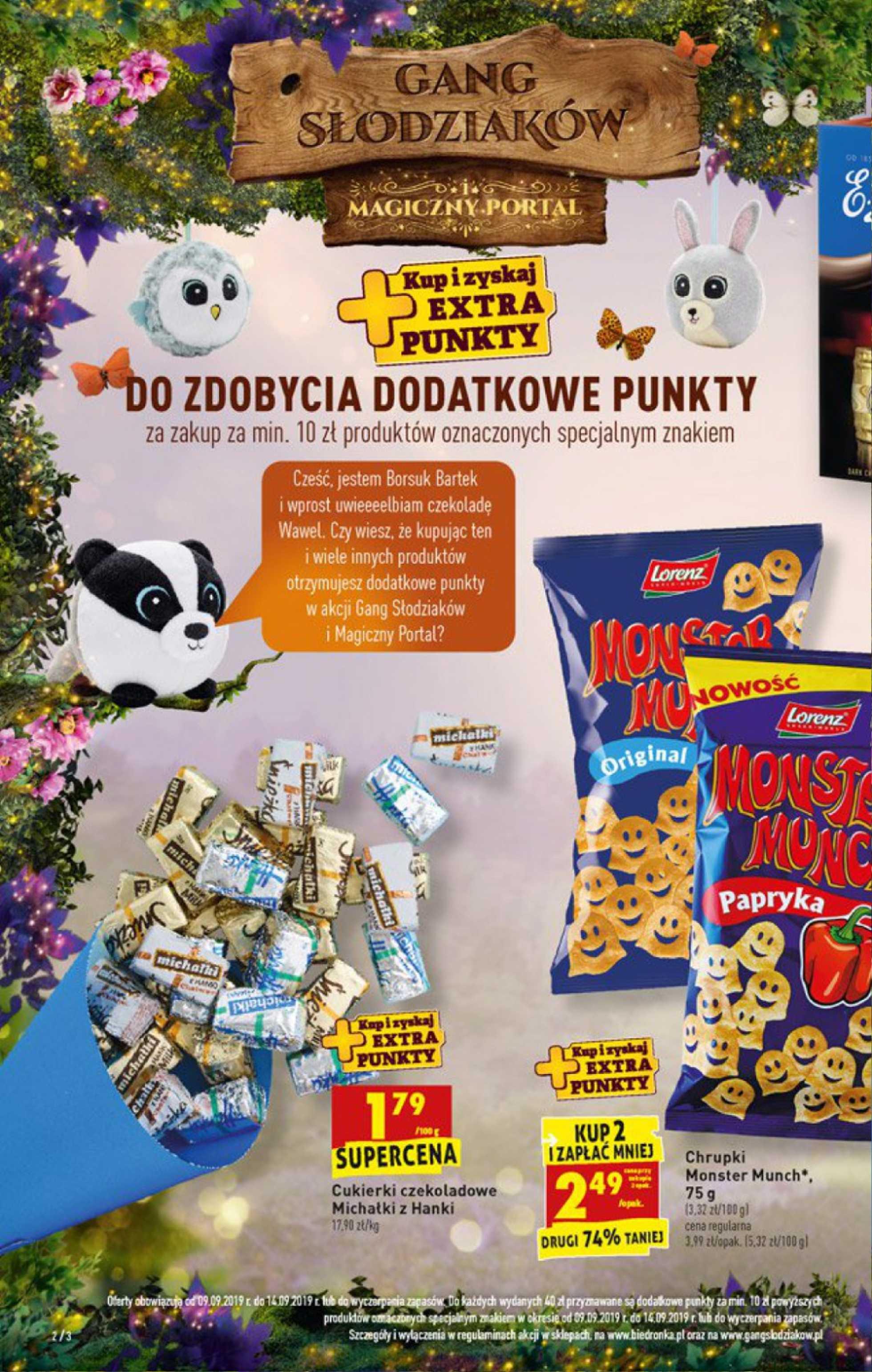 Biedronka - gazetka promocyjna ważna od 09.09.2019 do 14.09.2019 - strona 2.