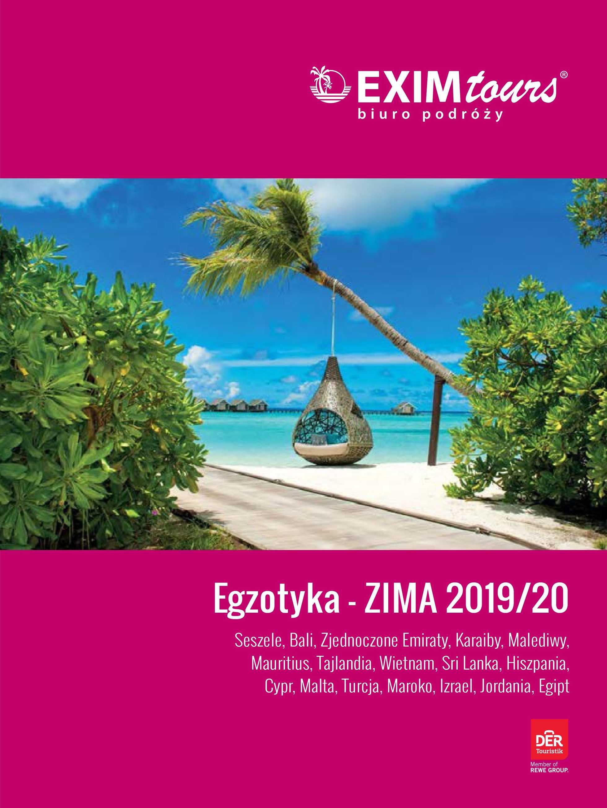 Exim Tours - gazetka obowiązująca od 2019-12-22 - strona 1