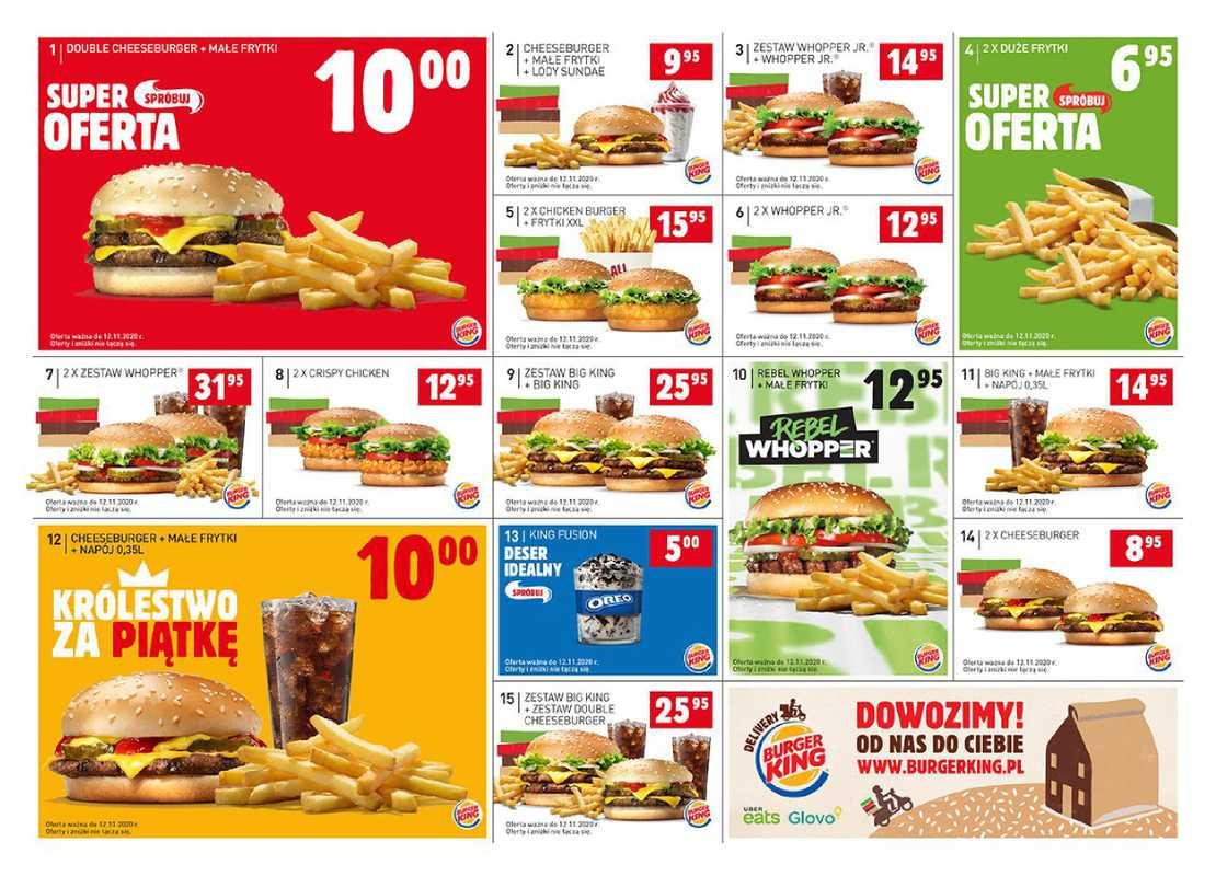 Burger King - gazetka promocyjna ważna od 02.10.2020 do 12.11.2020 - strona 1.