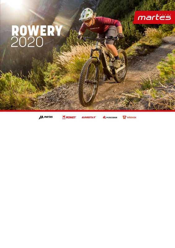 Martes Sport - gazetka promocyjna ważna od 21.05.2020 do 30.09.2020 - strona 1.