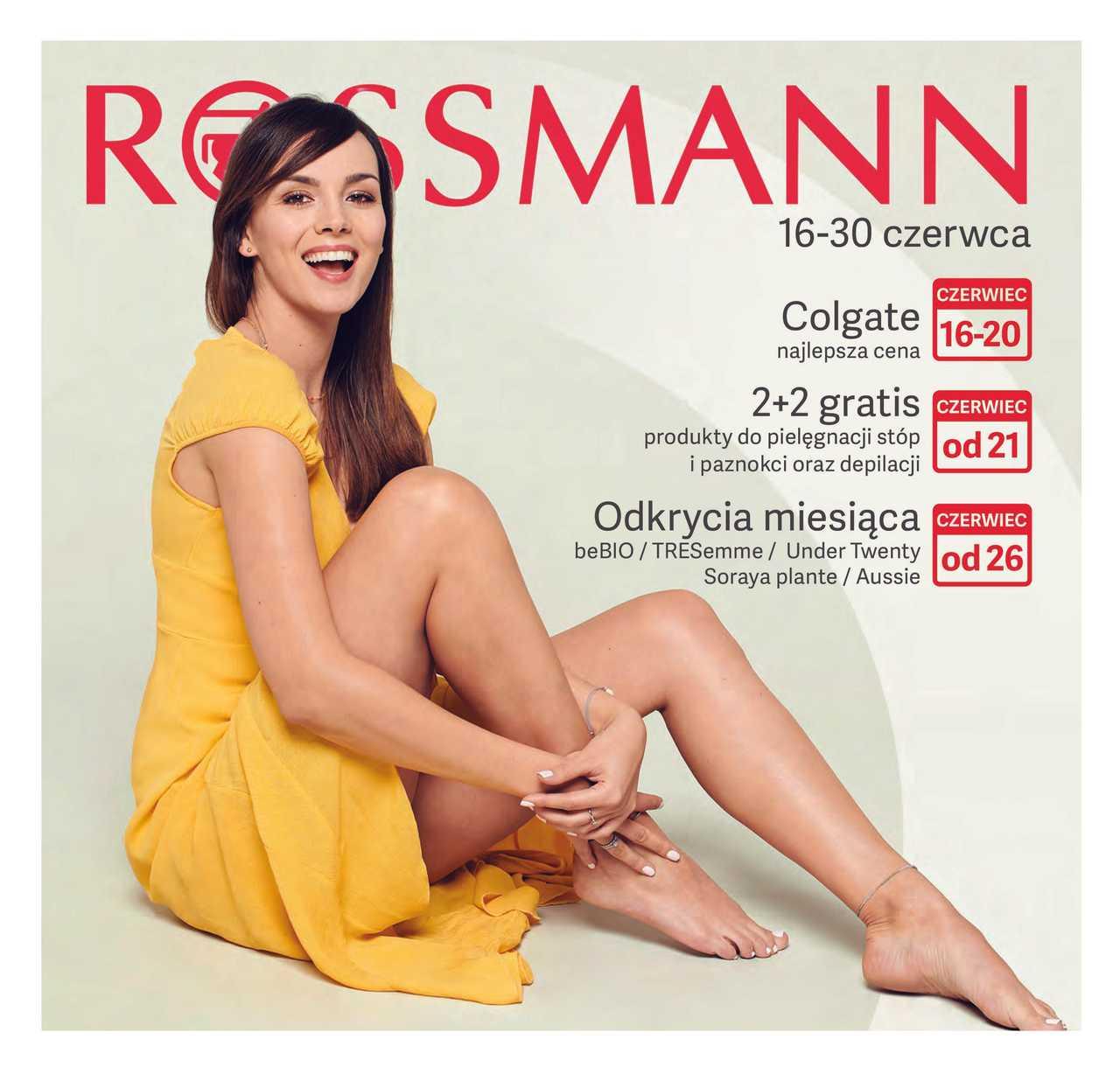Rossmann - gazetka obowiązująca od 2019-06-16 - strona 1