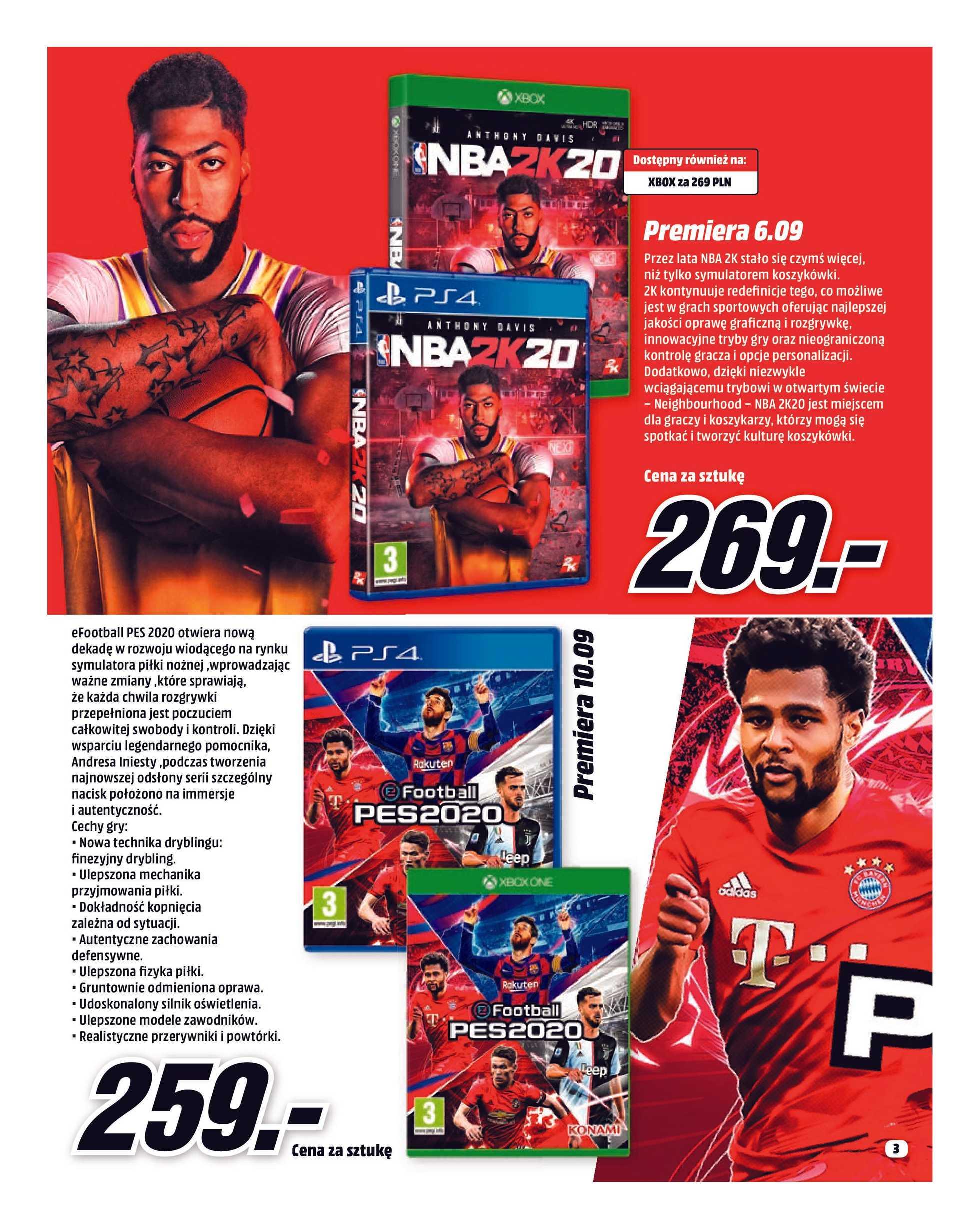 Media Markt - gazetka obowiązująca od 01-09-2019 - strona 3