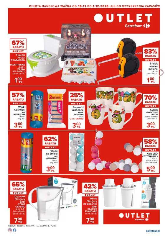 Carrefour - gazetka promocyjna ważna od 10.11.2020 do 01.12.2020 - strona 1.