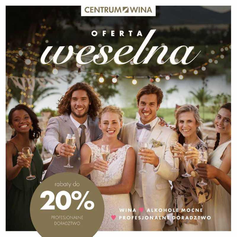 Centrum Wina - gazetka promocyjna ważna od 08.04.2021 do 31.12.2021 - strona 1.