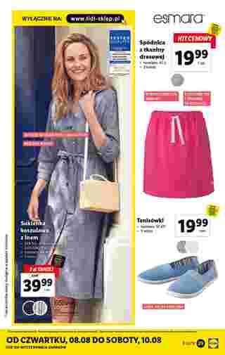Lidl - gazetka obowiązująca od 05-08-2019 - strona 29