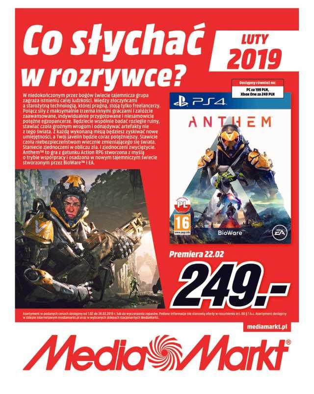 Media Markt - gazetka obowiązująca od 2019-02-01 - strona 1