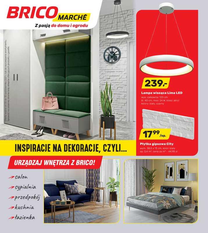 Bricomarche - gazetka promocyjna ważna od 20.10.2021 do 30.10.2021 - strona 1.