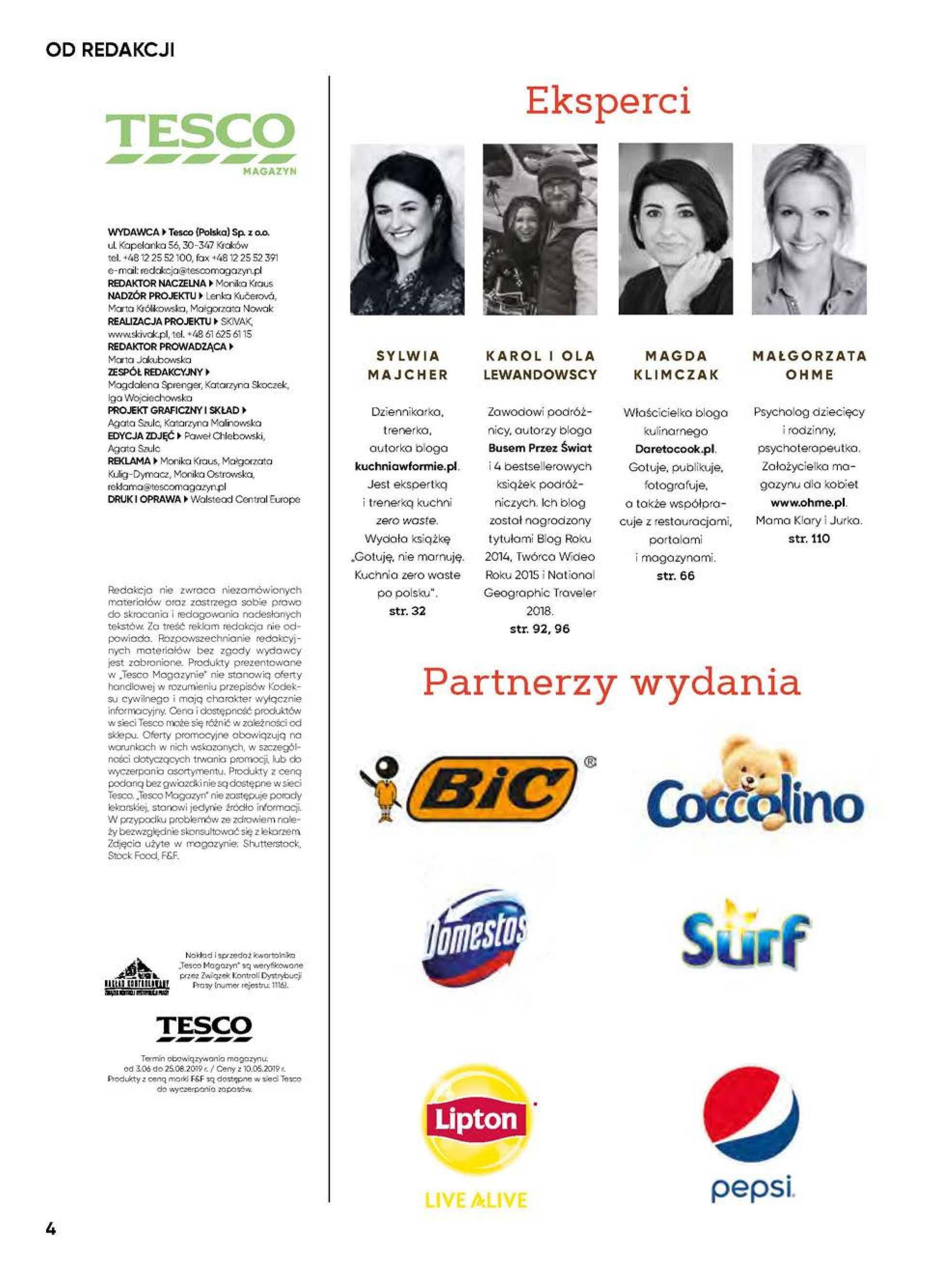 Tesco - gazetka obowiązująca od 03-07-2019 - strona 4