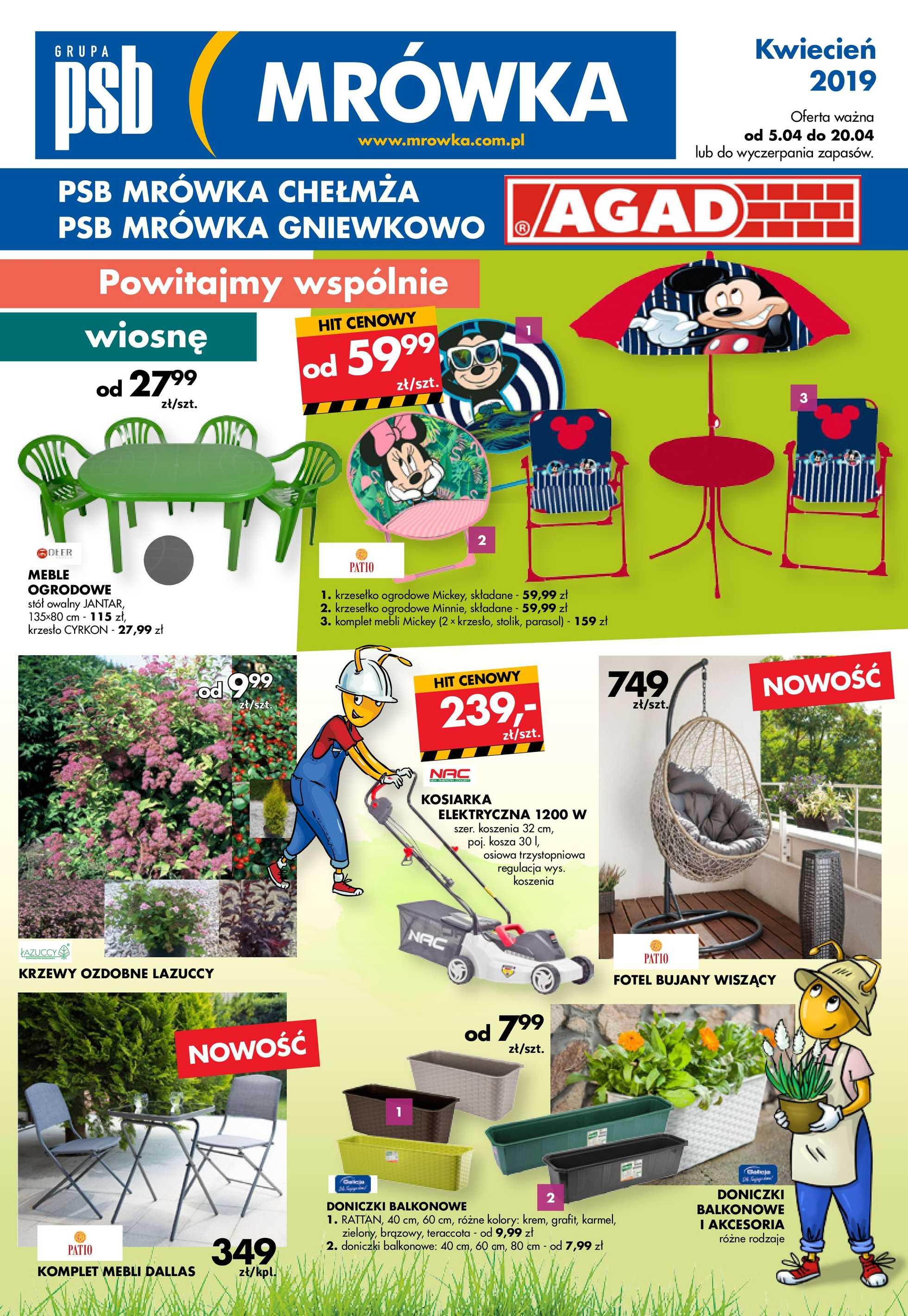 Psb Mrówka Gazetka Promocyjna 05 04 2019 Gazetkowopl