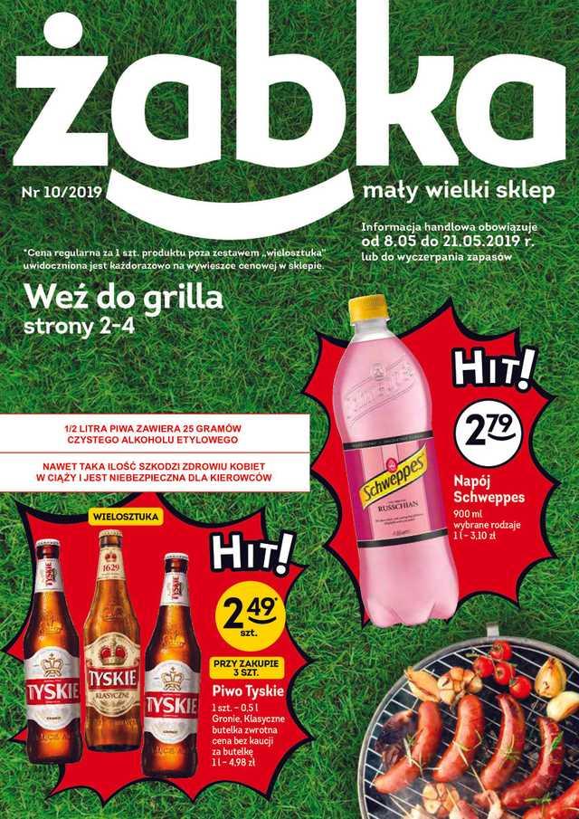 Żabka - gazetka obowiązująca od 2019-05-08 - strona 1