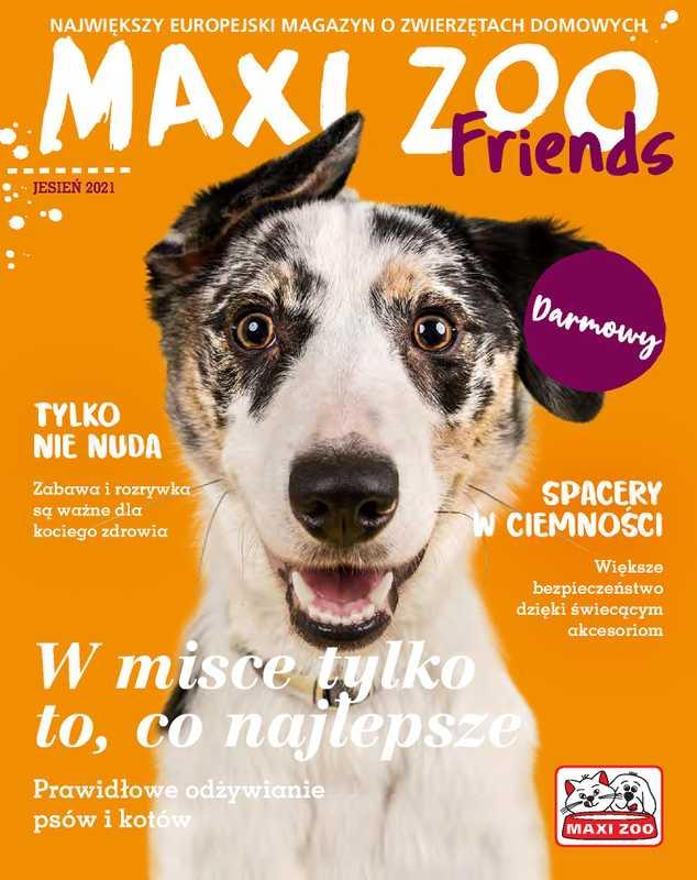 Maxi ZOO - gazetka promocyjna ważna od 23.09.2021 do 21.12.2021 - strona 1.