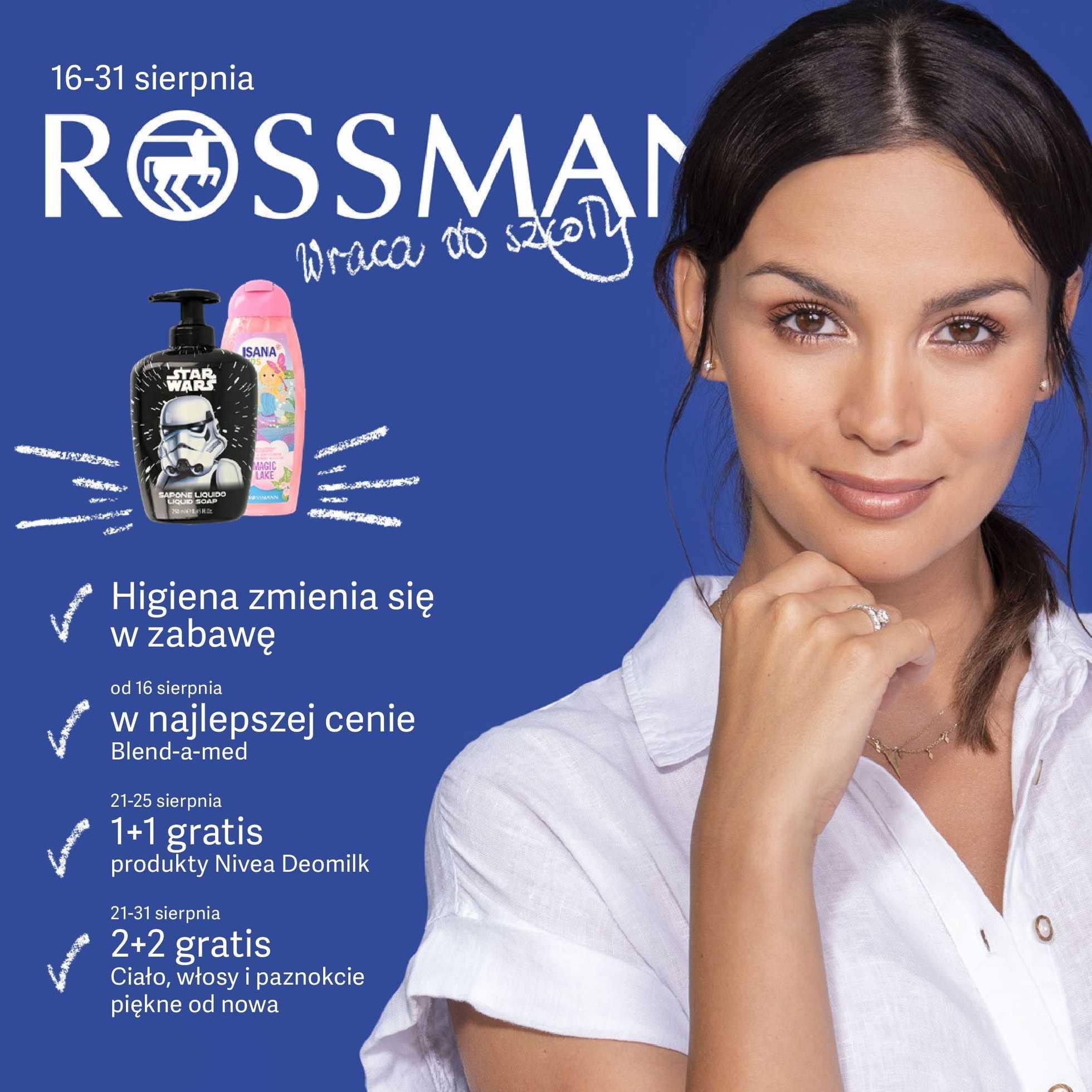 Rossmann - gazetka obowiązująca od 2019-08-16 - strona 1