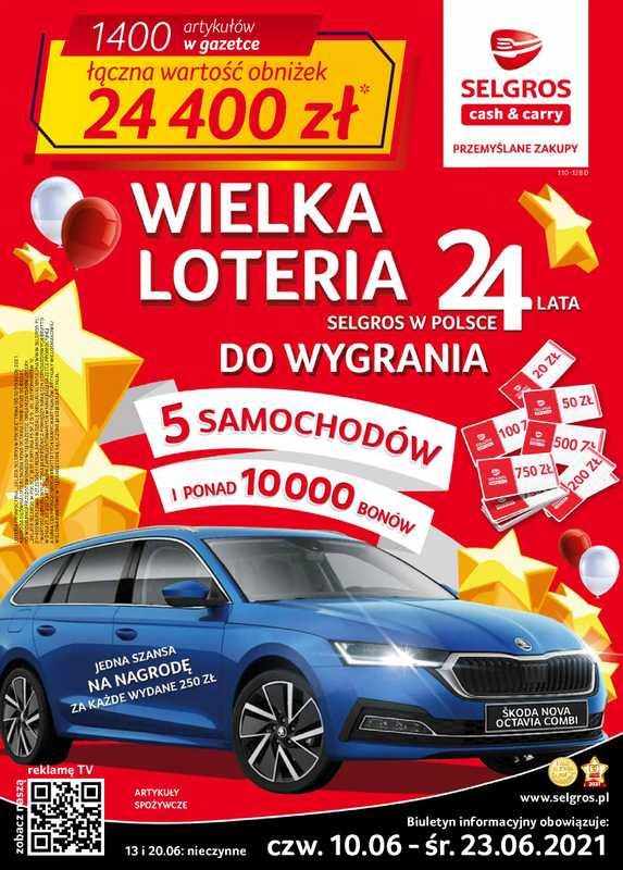 Selgros Cash&Carry - gazetka promocyjna ważna od 10.06.2021 do 23.06.2021 - strona 1.