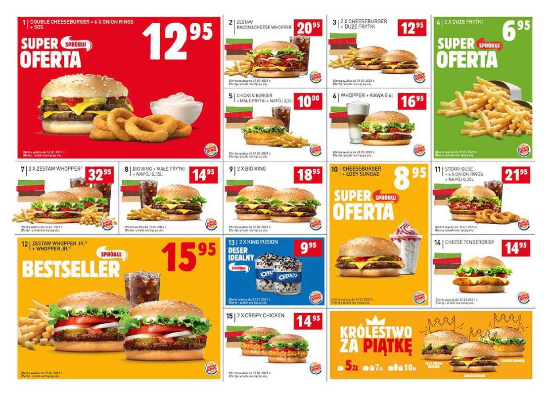 Burger King - gazetka promocyjna ważna od 16.11.2020 do 31.01.2021 - strona 1.