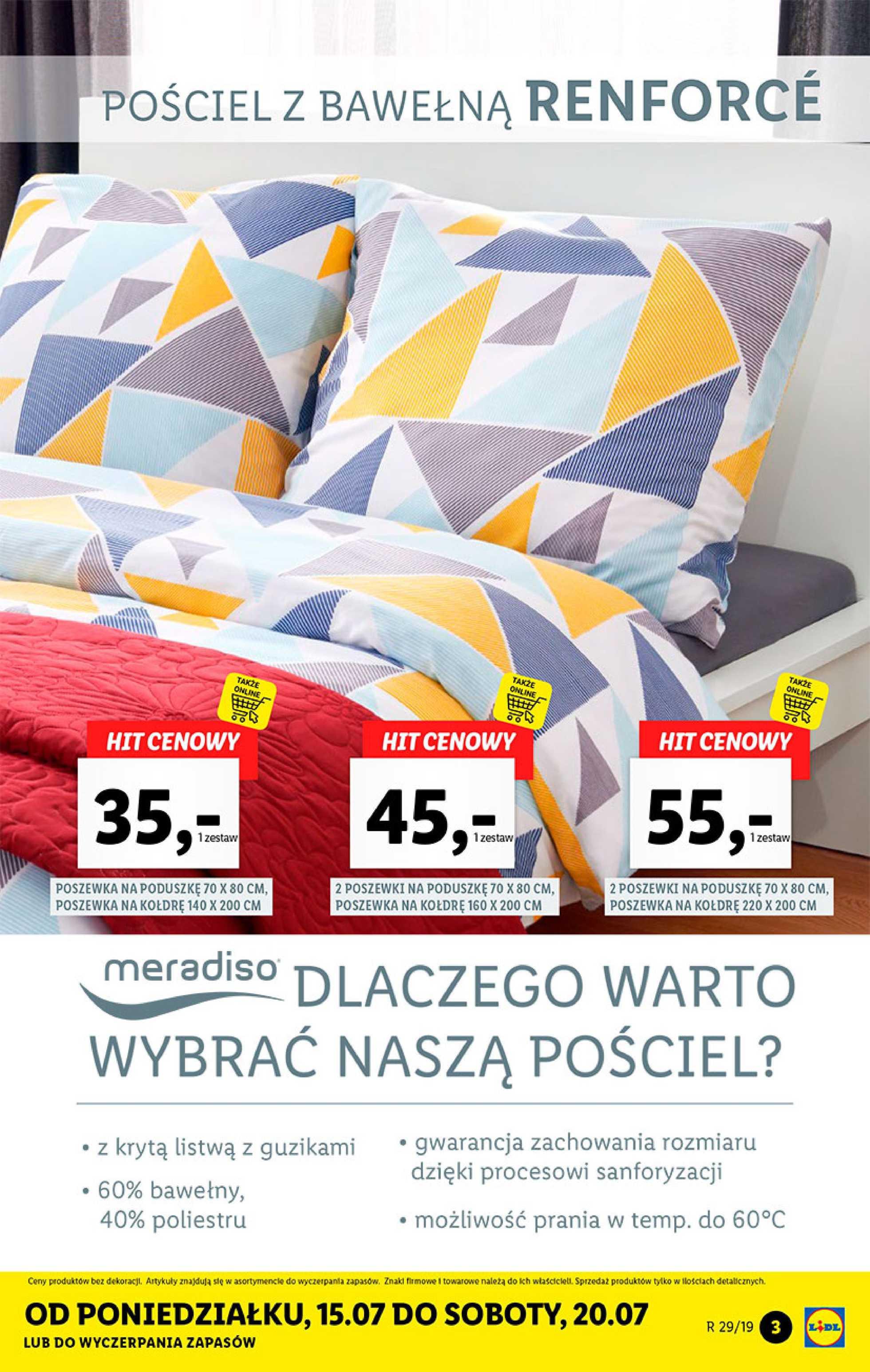 Lidl Gazetka Promocyjna 15 07 2019 Gazetkowopl