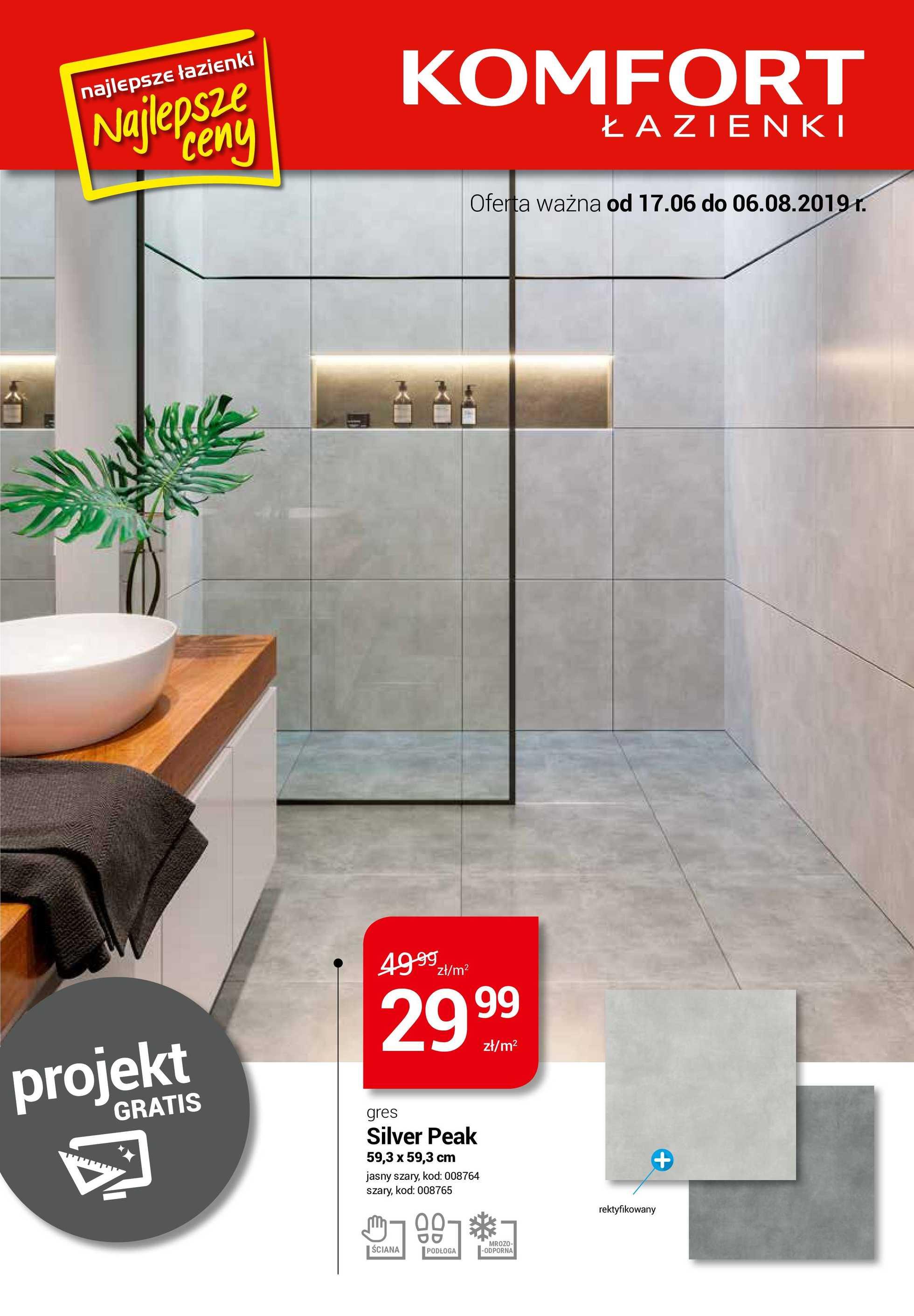 Komfort łazienki Gazetka Promocyjna 17 06 2019 Gazetkowopl