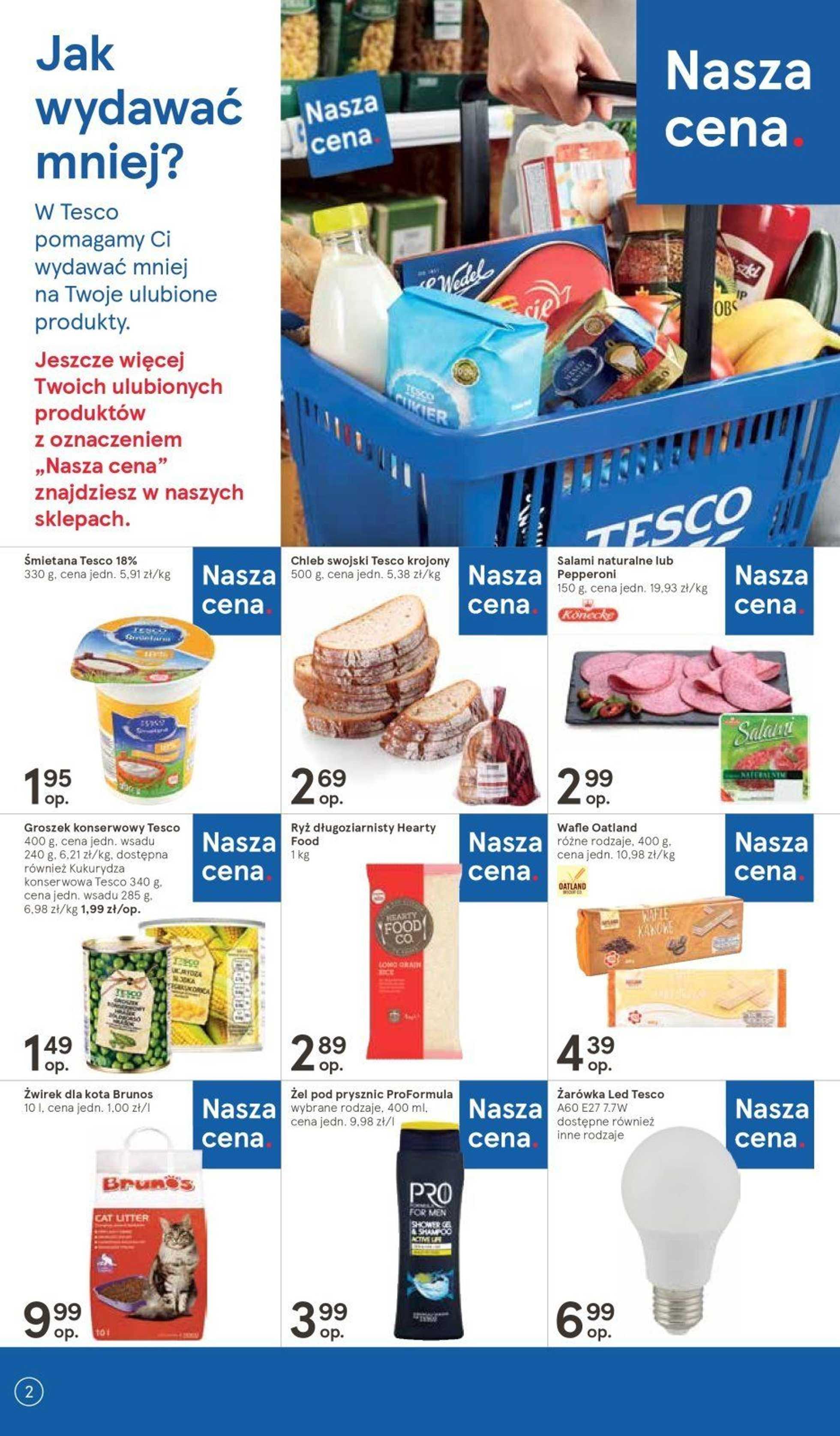 Tesco - gazetka obowiązująca od 14-03-2019 - strona 2