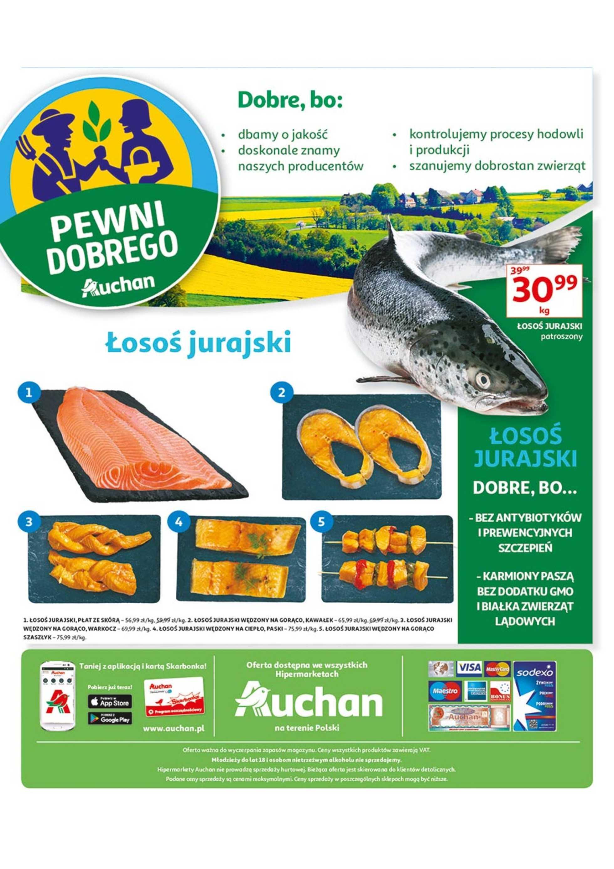 Auchan - gazetka obowiązująca od 2019-08-22 - strona 1