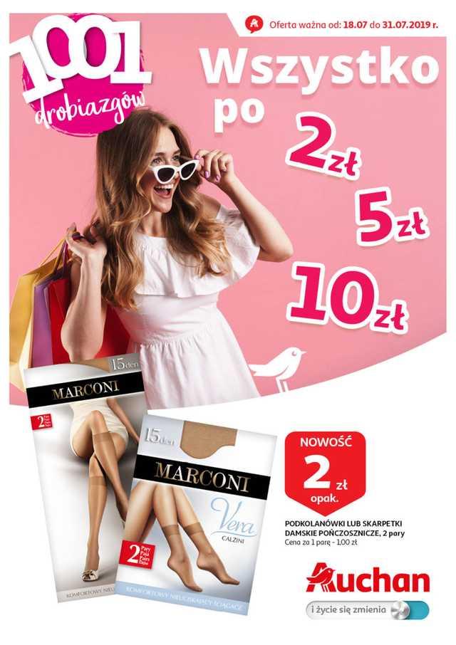 Auchan - gazetka obowiązująca od 2019-07-18 - strona 1