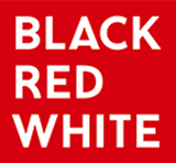Black Red White logo