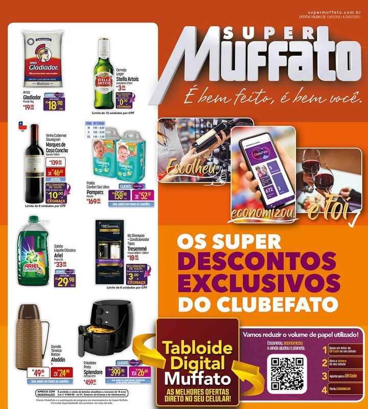Super Muffato - encarte válido de 13.07.2021 até 25.07.2021 - página 1.