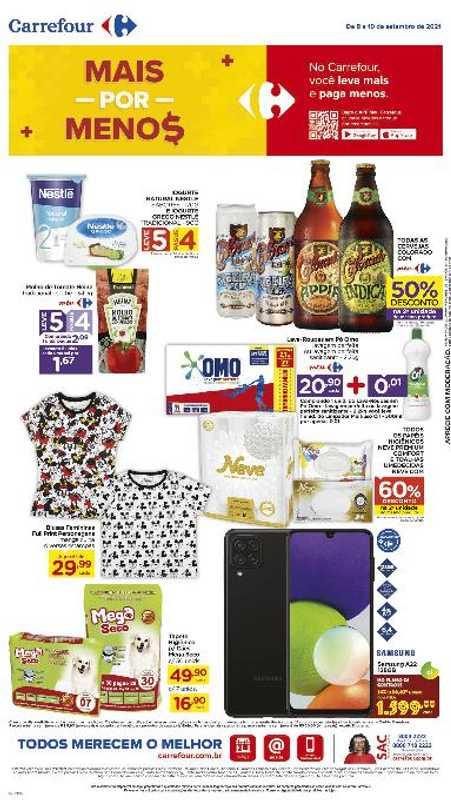 Carrefour - encarte válido de 17.09.2021 até 19.09.2021 - página 1.