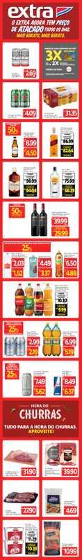 Extra Supermercado - encarte válido de 09.07.2021 até 11.07.2021 - página 1.