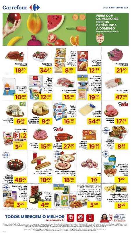 Carrefour - encarte válido de 20.07.2021 até 26.07.2021 - página 1.